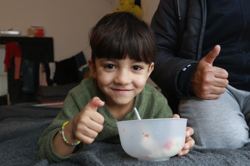 Flüchtlingshilfe in Serbien
