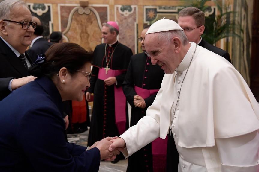 Tzu Chi ist am interreligiösen Dialog im Vatikanbeteiligt