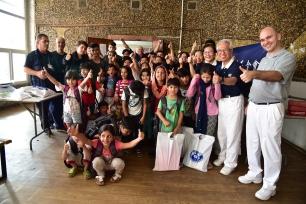 20180905 塞國第三場難民學童文具發放-阿德塞微西